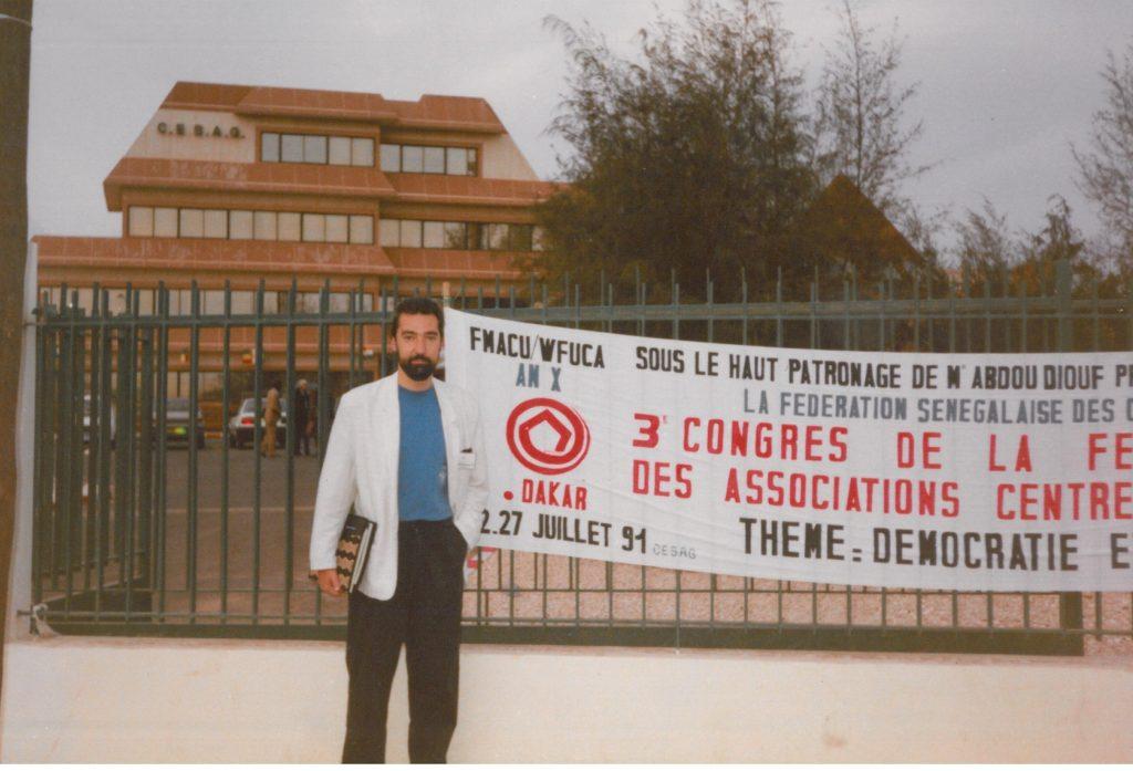 Congrés Mundial d'Associacions UNESCO. Dakar. 1991